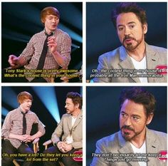 Robert Downey JR. :D