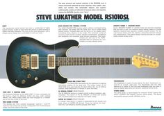 steve lukather ibanez roadstar - Google Search