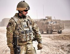 Soldier Keeps Watch During Construction of Route Trident in Helmand, Afghanistan by Defence Images, via Flickr