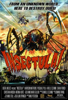 Classic Sci-Fi Horror Movies | Insectula! is a 2013 sci-fi comedy horror film designed to be a ...