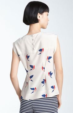 Finch Flight silk blouse from marc by marc jacobs