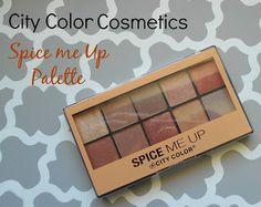 """City Color Cosmetics """"Spice Me Up Palette"""""""