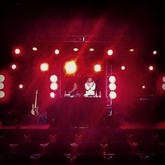 Soundcheck in Bergen @ the Radiance conference.