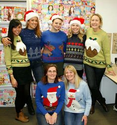 Sue Stratford Christmas Jumpers