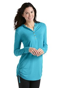 Sunscreen clothing that actually looks cute - take that sun!  Coolibar sunscreen clothes