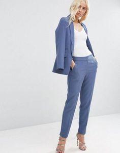 Синий костюм ASOS Premium