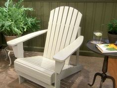 Sean Ennis gives unfinished Adirondack chairs a distinctive look with a basic coat of paint.