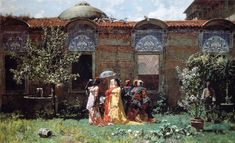 ALBERTO PASINI PAINTINGS ON ARC | Alberto Pasini (1826-1899) | Paintings…