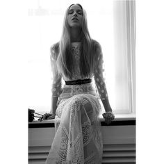Vintage inspired 'Emilia' wedding dress made of French lace by KATYA KATYA SHEHURINA featured in styled editorial in NOCTIS Magazine