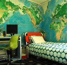 Good wallpaper for a school room