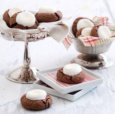 Topped with toasty marshmallows, these Hot Chocolate Cookies are sure to satisfy your sweet tooth.