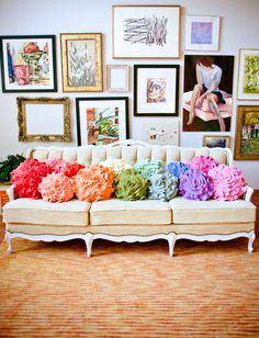 Love these pillows from the funky boutique.