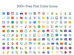Download FREE!! 300 Editable Icons