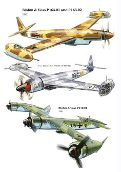 Blohm & Voss had some. Luftwaffe, Amerika Bomber, Steampunk Keyboard, Flying Vehicles, Sci Fi Ships, Spaceship Concept, Aircraft Design, Dieselpunk, Military Aircraft