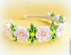 """Купить Ободок для волос """"Аленка """" - ободок для волос, ободок с цветами, венок из цветов, девочке"""