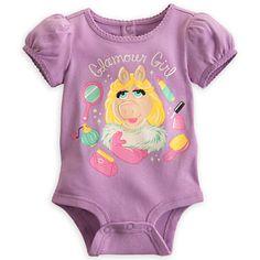 Muppets baby girl onesie
