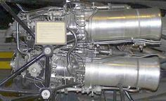 de Havilland Double Spectre HTP rocket engine - used in test versions of the Blue Steel missile.