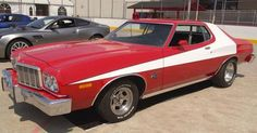 """George Barris Custom Cars, """"Starsky and Hutch"""" 1975 Ford Torino. Best Muscle Cars, American Muscle Cars, Automobile, Used Car Prices, Discovery News, Starsky & Hutch, Ford Torino, Vito, Pony Car"""