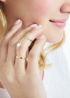 Absolutely adore this ring! Chic Chic Chic!! This is a definite statement piece!