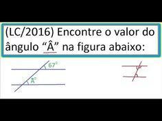 Curso de Matemática Ângulos de retas concorrentes e transversais Ângulos...