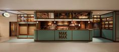 A facade resembling a Thai grocery stall disguises this restaurant in Hong Kong designed by NC Design & Architecture to look like a film set