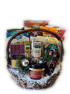 Gourmet healthy gift basket you can get gluten free diabetic gourmet healthy gift basket you can get gluten free diabetic high fiber low cal you name it they got it no more having to worry about gifti negle Choice Image