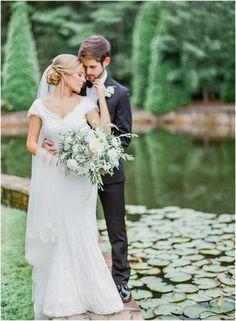 Romantic Film Wedding Photos Foxhall Resort