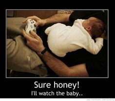 Can totally see my husband doing this!