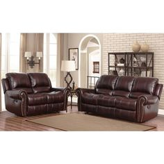 blackburn 4 piece top grain leather living room set 3400 costco