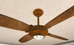 rustic celing fans | Rustic Ceiling Fan