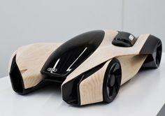 car design Futuristic Vehicle, Future Car, Audi Wood Aerodynamics Concept by Pavol Kirnag - Scale model Auto Design, Design Autos, Automotive Design, Design Transport, Automobile, Futuristic Cars, Futuristic Vehicles, Audi Cars, Audi Tt