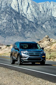 Turn family time into nature time in the versatile, spacious 2018 Honda Pilot.