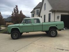1964 Power Wagon - Crew Cab swapped on a modern Cummins dodge
