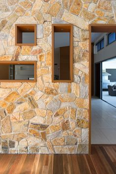 Beautiful Stone Walls In Houses