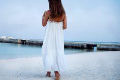 White beach dress - MariannanMariannan