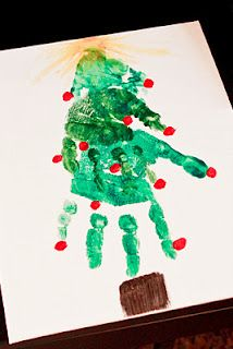 Bliss Images and Beyond: Handprint Christmas Tree