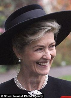 Manager: Lady Brabourne has run the vast estate since 2010 when her husband departed for a new life in the Bahamas