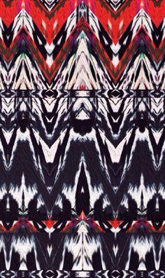 Leheria #ikat pattern by Zephyr