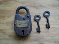 Prison, railroad, other reproduction or fantasy locks.  Locks come with two keys unless otherwise stated.  Numbers on locks may vary.  All locks do work.  All items are subject to prior sale and...