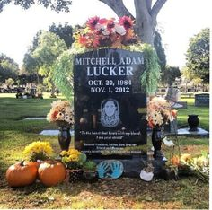 You only live once, and you made that life count R.I.P Mitch Lucker