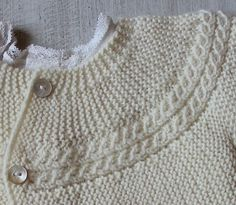 29 / Princess Charlotte Jacket / Knitting por LittleFrenchKnits