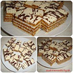 Archívy Rezy a dezerty - Page 6 of 9 - zuzkinemaskrty. My Dessert, Dessert Recipes, Czech Recipes, Ethnic Recipes, Christmas Cookies, Vanilla Cake, Sweet Recipes, Tiramisu, Christmas Time