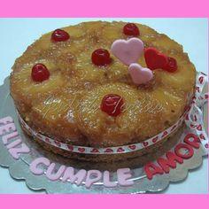 Torta tradicional de piña.