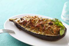 Berenjenas Rellenas de Pollo #recetas #salud