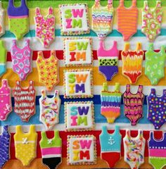 Swim suits by Colleen Ward Stanley
