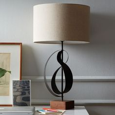 Sculptural Table Lamp | west elm | Oh, I MUST have this...