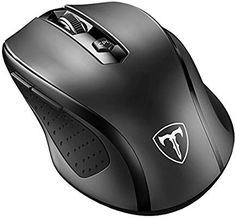 VicTsing Wireless Portable Mobile Mouse Optical Mice with USB Receiver 5 Adjustable DPI Levels 6 Buttons for Notebook PC Laptop Computer Macbook Black -- Be sure to check out this awesome product. Pc Computer, Laptop Computers, Computer Mouse, Microsoft Surface, Microsoft Pro, Electronics Projects, Kitchen Electronics, Electronics Gadgets, Logitech