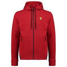 4a1bb2a24 Scuderia Ferrari Formula 1 Men s 2018 Red Hooded Sweat Jacket