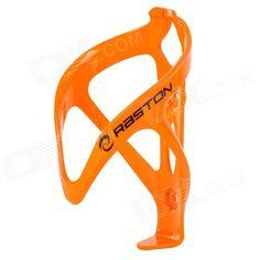 RASTON Bicycle Carbon Plastic Water Bottle Holder Cage - Orange Price: $7.00