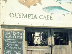 Olympia Cafe, Kalk Bay - mmm best seafood pasta